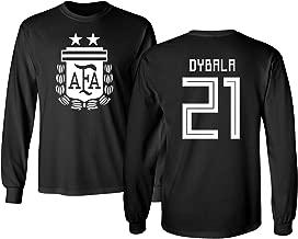 Tcamp Argentina 2018 National Soccer #21 Paulo Dybala World Championship Men's Long Sleeve T-Shirt