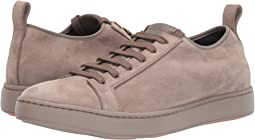 Cleanic Stretch Suede Lace-Up Sneaker