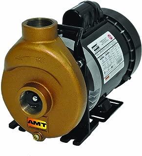 AMT Pump 388F-97 Inline Centrifugal Pump, Bronze, 1/2 HP, 1 Phase, 115/230V, Curve A, 1-1/2