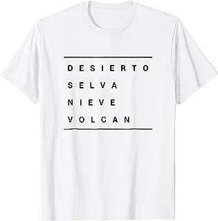 Venezuela Desierto Selva Nieve Volcan Shirt Tee Gift
