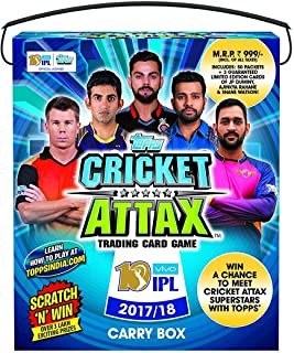 Topps India Cricket Attax 2017/18 Carry Box