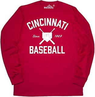 Cincinnati Baseball Long Sleeve T-Shirt 2afef