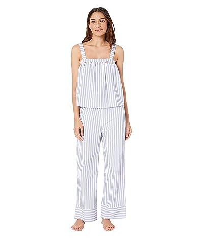 Cosabella PJ Party Cami Pants PJ Set (Wisteria Stripe) Women