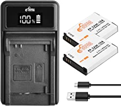 SLB-10A,Pickle Power 2 Pack Batteries and LED Charger for Samsung EX2F HZ15W SL202 SL420 SL620 SL820 WB150F WB250F WB350F ...