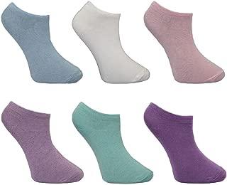 Womens LadiesThermal Heat Holders Slipper Socks 4-8 37-42,6.5-10.5 US VIOLET