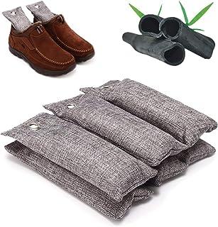 جينريك 6 قطع / مجموعة حقيبة تنقية الهواء الطبيعية للسيارة المنزل الخيزران الفحم مزيل الروائح الكريهة ومزيل الروائح الكريهة