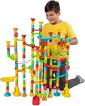 Fat Brain Toys 200 pc Mega Marble Run Marathon Building & Construction for Ages 6 to 10