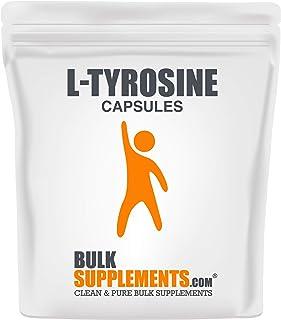 BulkSupplements L-Tyrosine Capsules (100 Vegetarian Capsules)