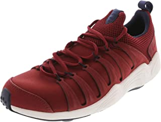 Nike Mens Air Zoom Spirimic Premium Running Sport Shoes - Size: 9 US or 27 cm - Color: Burgundy/White