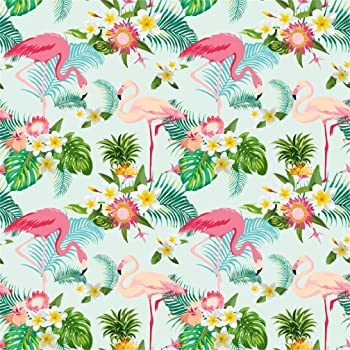 Amazon Com Aofoto 6x6ft Flamingo Background Beautiful Flowers Abstract Tropical Plant Leaves Bridal Shower Party Decoration Banner Photography Backdrop Photo Studio Props Girl Woman Artistic Portrait Wallpaper Camera Photo