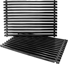 Hongso 7525 17.4 Inches Porcelain Enameled Gas Grill Grates for Weber Spirit 300 Series,Spirit 700, Genesis Silver Gold B/C Replacement Parts 7527 65906 Grates PCG525 11.8 x 17.4 Each