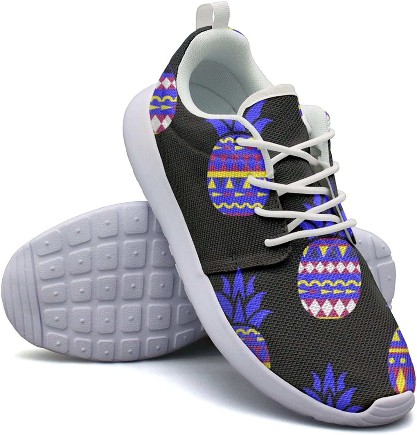Summer Geometric Creative Neon Pineapple Womans Camping Design Running shoes Cool Mini