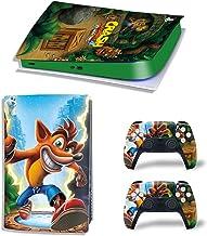 AOO Adesivo in Vinile per PS5, PVC Pellicola Protective Cover Sticker per PS5 Controller Skin per Playstation 5 Gamepad De...