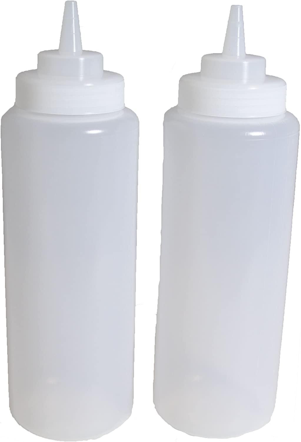 Max 81% OFF Max 77% OFF SET of 3 32 Oz. Ounce Clear Squeeze Condiment Bottle S Large