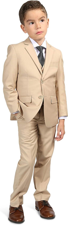 Direct stock discount Ferrecci Boys Suit Notch Ranking TOP19 Lapel 5 - Set Jacket Piece Blazer
