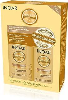 Inoar Kit Duo Shampoo e Condicionador DayMoist Ultra Hidratante com CLR 250 ml, Inoar