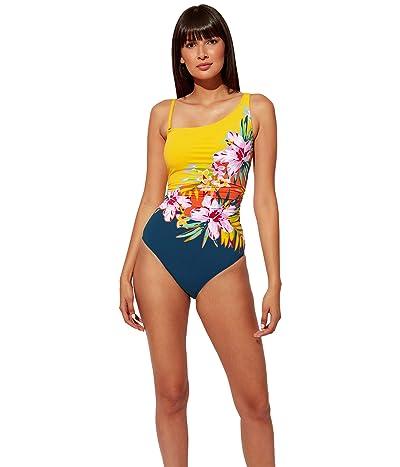 Bleu Rod Beattie Beachy Keen One Shoulder Placement One-Piece Women