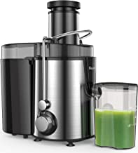 Juicer Machines Centrifugal Juice Extractor for Whole Fruit and Vegetables, BPA-Free, Dual Speed and Overheat Overload Pro...