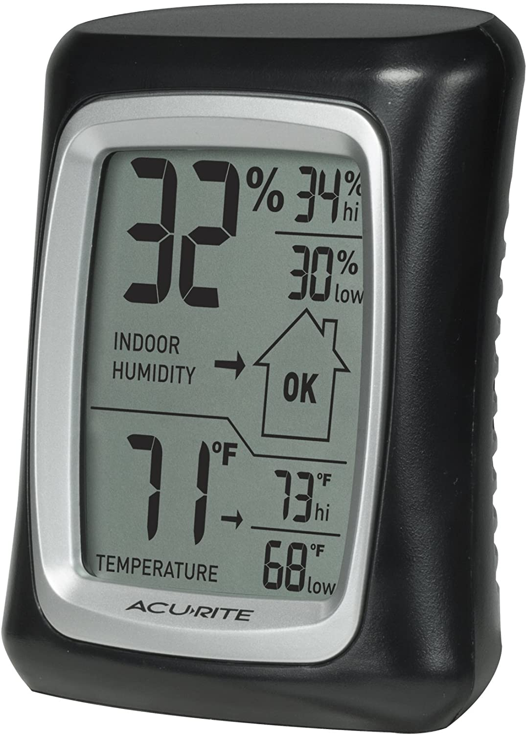Luxury goods AcuRite 00325 Indoor Thermometer Humidity Gaug Max 46% OFF Hygrometer with