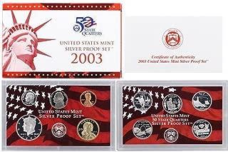 2003 U.S. Mint Silver Proof Set Set Uncirculated