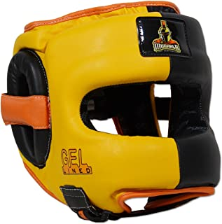 Ring to Cage MUGHALS Deluxe Full Face GelLined Sparring Headgear