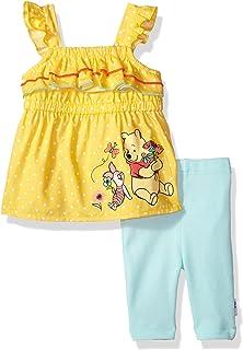 Disney - Juego de Leggings para bebés y niñas