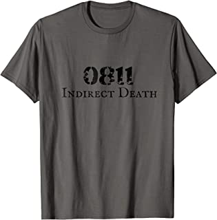Combat Arms Artillery shirt 0811 Indirect Death