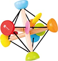 Classic World Extended Ball Magic Ball Expandable Toy Sphere Rainbow Toy Ring for Baby Toddler Early Learning Education