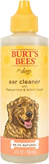 Burt's Bees for Dogs Natural Ear Cleaner with Peppermint and Witch Hazel | Solution for Dogs Or Puppies, 4oz