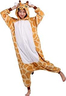 fe2200929d411 Pyjama Animal Adultes Kigurumi Cosplay Girafe Animal pour Unisexe