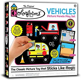Colorforms Picture Panels Play Set - Vehicles