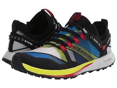 SKECHERS Go Run Speed Trail (Black/Blue) Shoes
