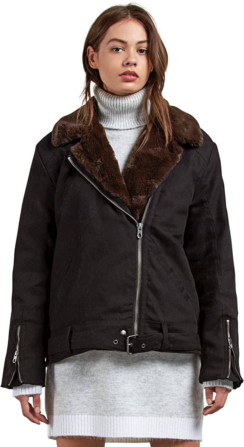 Volcom Women's Perfect Stone Jacket Front Max 74% OFF Factory outlet Open