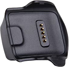 Kissmart Gear Fit Charger, Replacement Charger Charging Cradle Dock for Samsung Galaxy Gear Fit Smart Watch SM-R350 (Black)