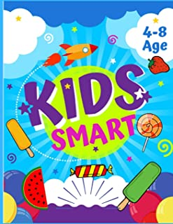 Kids smart: brain books booster for kids / book to activate the brain for kids / smart books for kids / brain games for ki...
