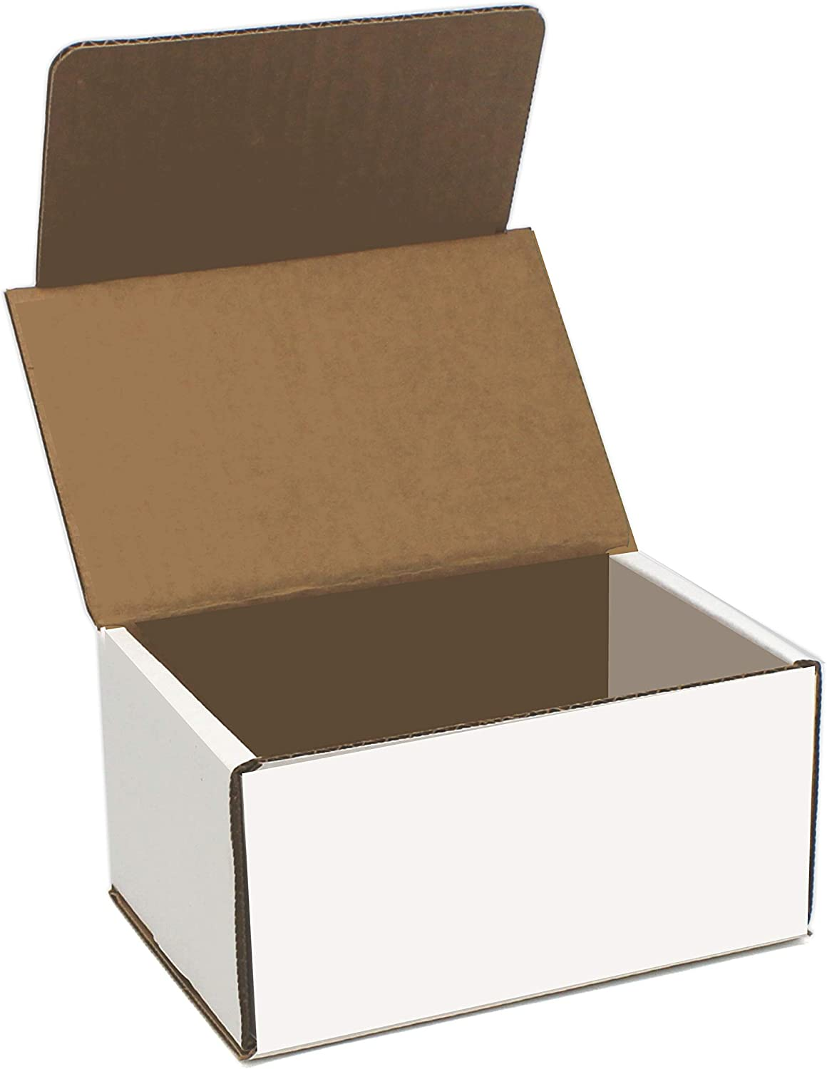 White Cardboard Shipping Box - Pack of 25 Max 72% OFF Whi Sales of SALE items from new works x 4 Inches 6 3