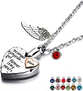 cremation necklace for mom