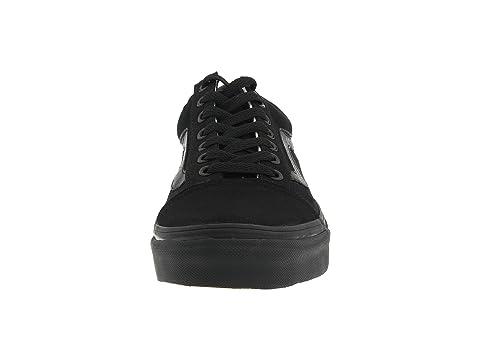 Negro Negro Vans Core Skool® Classics Old vCCIwxAqp
