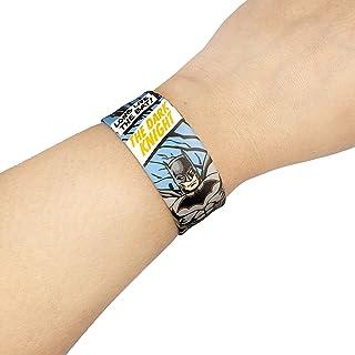 WB Batman Printed Kids Silicone Slap Band Bracelet, WarnerBros