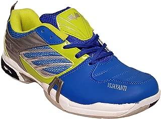 Vijayanti TT90 Blue Green Tennis Shoes