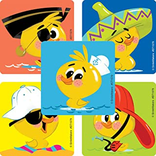 SmileMakers Rubber Ducky Stickers - Prizes and Giveaways100 Per Pack