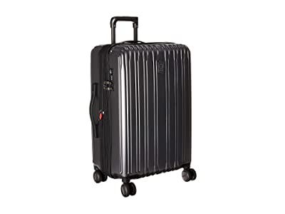 Delsey 25 Chromium Lite Expandable Spinner Upright (Graphite) Luggage