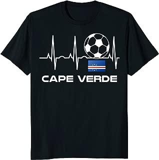 Cape Verde Soccer Jersey Shirt Cape Verde Football Gift Tee