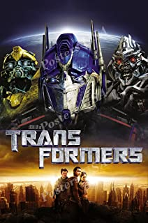 POP Home Store Transformers 4 Movie Poster Optimuswall 24X36 Inch
