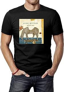 Men's Black Josh Ritter The Animal Years T-Shirt Tee Shirt