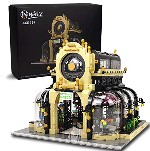 lowest Nifeliz Street Botanical Garden MOC Building Blocks and Engineering Toy, Construction Set to popular Build, Model Set and Assembly Toy for Teens and Adult(2147 high quality Pcs) sale