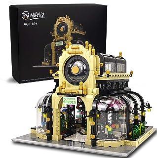 Nifeliz Street Botanical Garden MOC Building Blocks and Engineering Toy, Construction Set to Build, Model Set and Assembly...