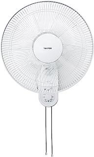TEKNOS 40cm壁掛けメカ扇風機 ホワイト KI-W422