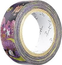 SEAL-DO Washi Masking Tape, Pandora Box Designed Fu-Jiko-Chan Cat, Witch, 15mm x 10m (pb-mt-10009)
