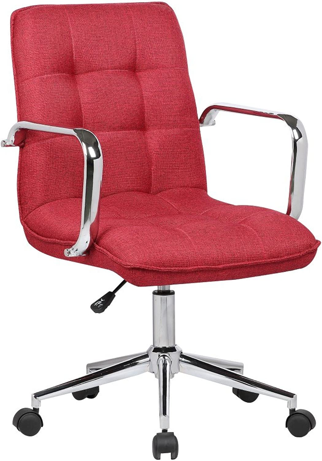 Porthos Home SKC014D RED Theresa Office Chair Red